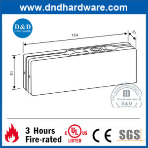 Hardware Accessories Stainless Steel Patch Fittin for Shopping Malls pictures & photos