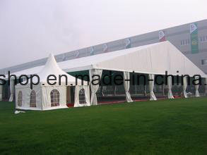 PVC Coated Tarpaulin Sunshade Awning Roofing (1000dx1000d 18X18 400g) pictures & photos