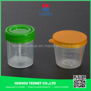 Plastic Urine Sample Collection Container pictures & photos