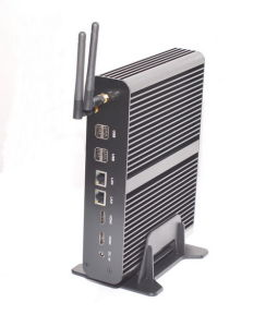 Supporting Windows XP/7/ 8/ 10 /Linux OS Fanless Intel Core I7 Mini PC (JFTC4500U) pictures & photos