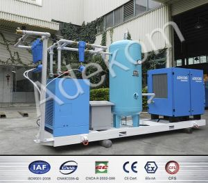 Skid-Mounted Compressed Screw Air Compressor System pictures & photos