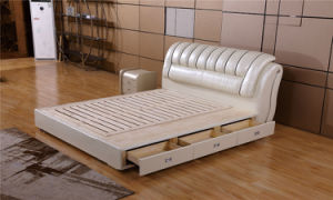 Living Room Furniture Bed Room Furniture Soft Bed pictures & photos