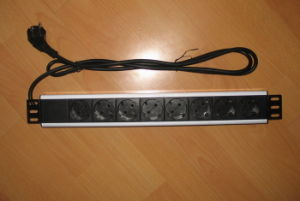 German Power Strip For Network Cabinet