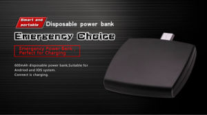 Disposable 30% Charged Emergency Smart Disposable Power Bank pictures & photos