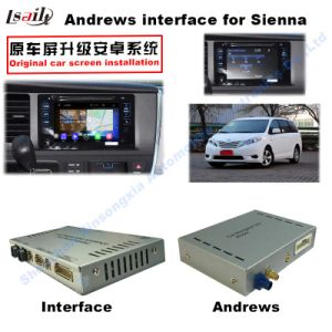 Car Video Interface for 2016 or Later Toyota Sienna, Android Navigation Rear and 360 Panorama Optional pictures & photos