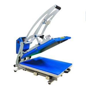 Lasing Cutting Frame Auto Magnetic Heat Press with Drawer Open pictures & photos