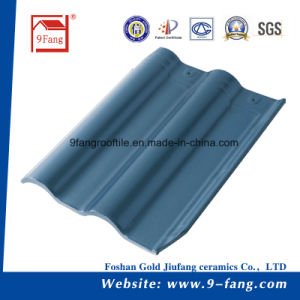 Building Material Clay Ceramic Villa Roof Tile 300*400mm pictures & photos