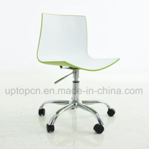Movable and Adjustable Double Color ABS Plastic Office Chair (SP-UC468) pictures & photos