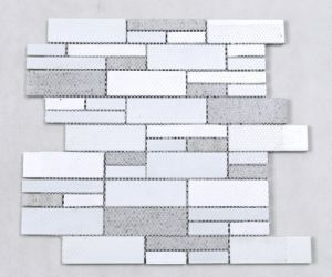 New Style Quartz Stone and Crystal Mosaic pictures & photos