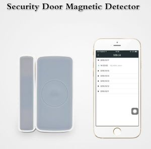 Wireless Home Security Alarm System Zigbee Door Contact Magnetic Detector pictures & photos