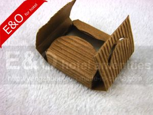 Corrugated Paper Wheat Square Rustic Soap pictures & photos