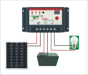 10A 20A 30A Solar Charge Controller 12V/24V for Solar System with Ce 10I-Bl pictures & photos