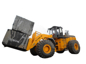 Big Capacity Mine Machine 40t Block Forklift Loader with 247kw pictures & photos
