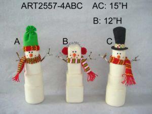 """6""""H Snowman Ornament Christmas Tree Decoration-2asst pictures & photos"""
