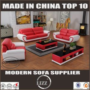 High Quality Genuine Leather Sofa for Home Furniture Lz1688 pictures & photos