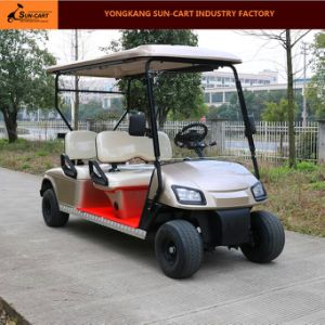 Customized New Model 4 Seater Electric Golf Cart pictures & photos