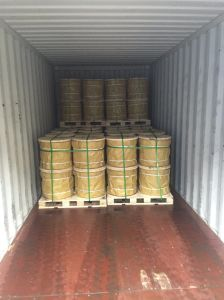 Hot DIP Galvanzied Steel Wire Rope 6X37+FC/Iws/Iwrc for Vessel with Ashpalt pictures & photos