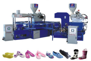 Two Color Jelly Slippers Injection Machine pictures & photos