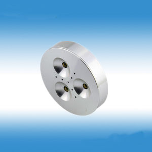 3*1W Dimmable LED Puck Light pictures & photos