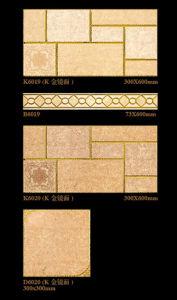 6D Good Quality Inkjet Interior Wall Tile Porcelain Tile for Washroom Decoration 300X600mm pictures & photos
