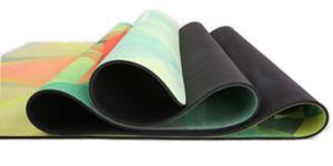 Non Slip Yoga Mat Combo Mat 2 in 1 Best for Hot Yoga / Bikram Pilates Yoga pictures & photos