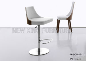 New Model Elegant Fancy restaurant Bar Chair Wood Back (NK-DCA037-1)