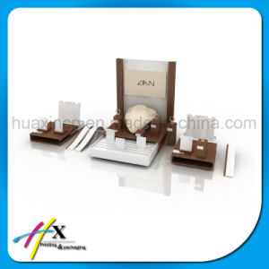High-End Custom Wooden Jewelry Display Exhinbition Stand pictures & photos