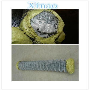 Galvanized Chain Link Fence Wire Diameter 2.0mm Hole 60X60cm pictures & photos