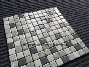 Luxurious Full Body Gray Glassic Mosaic for Swimming Pool pictures & photos