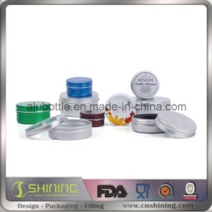 Customs Cheap Cosmetic Aluminum Jar