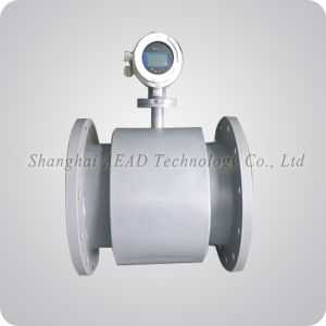 Digital Display Electromagnetic Liquid Flow Meter pictures & photos