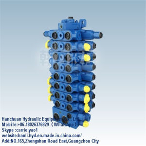 Rexroth High Pressure Hydraulic Control Valve for Yuchai 60 (SX12) pictures & photos