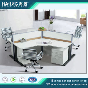 Modern 3 Seats Ergonomic Professional Useful Office Computer Workstation pictures & photos