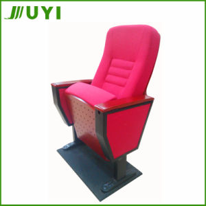Jy-998t Folding Fabric Home Cinema Seating Cup Holder Theater Chair pictures & photos