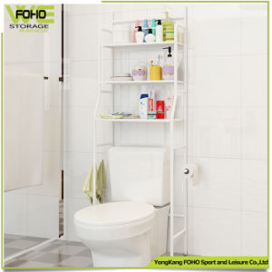 Toilet Cabinet Shelving 3 Layer Storage Bathroom Rack pictures & photos