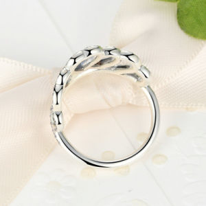 100% 925 Sterling Silver Hearts Tiara, Clear CZ Women Finger Ring Compatible with Original Jewelry Mood Ring pictures & photos