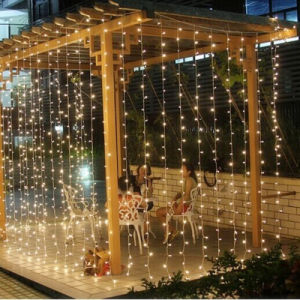 Wholesale Ce& RoHS Approved Factory Supply 4m*0.6m Christmas Xmas LED Icicle Curtain Light for Outdoor Party Festival Wedding Decoration pictures & photos