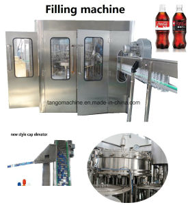 Automatic Cold Drink Filling Bottling Making Machines for Carbonated Water pictures & photos