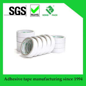 White Adhesive Double Sided Tape with Competitive Price pictures & photos