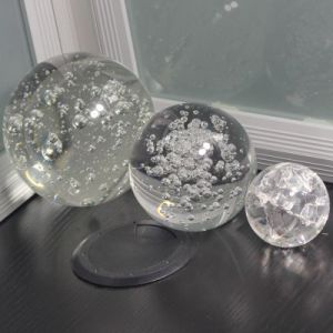 3D Laser Engraved Crystal Ball and Home Decoration Crystal Ball pictures & photos