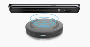 Nw110f Qi 5V/9V Fast/Quick Charge Wireless Charging Pad Wireless Mobile Charger pictures & photos