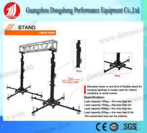 6.5 Meters Hand Stand Light Rack pictures & photos