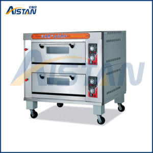 Htr-40q Stainless Steel 2 Layer-4 Tray Gas Oven for Baking Machine-Model#Htr-40q pictures & photos