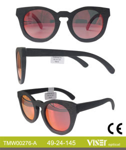 Best Selling Vintage Wooden and Bamboo Sunglasses with Ce and FDA (276-A) pictures & photos