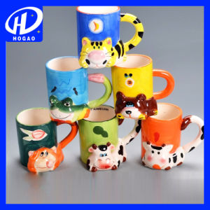 320ml Ceramic Cartoon Mug Milk Mug Coffee Mug Tea Cup Office Mug Christmas Gift pictures & photos