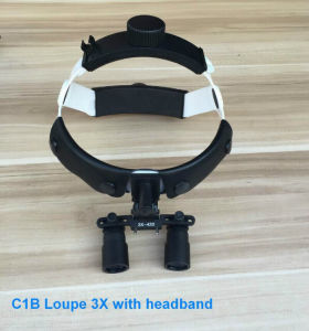 Dental Surgical Binocular Loupes Optical Glass Loupe 2.5X 420mm Dentist pictures & photos