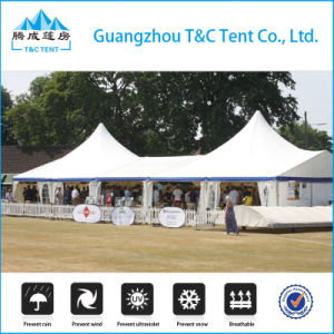Aluminum Frame Mixed High Peak Wedding Party Tent with Cooling pictures & photos
