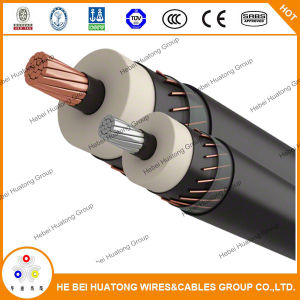 15kv 1/0 2/0 3/0 4/0AWG Copper/Tr- XLPE/PVC Urd Power Cable pictures & photos