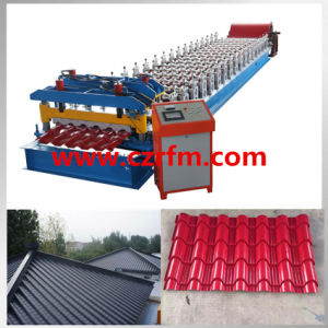 Aluminium Corrugated Roof Sheet Cold Roll Forming Making Machine pictures & photos