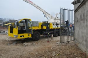 25m Multi-Function Diesel Concrete Pump Truck with Mixer pictures & photos
